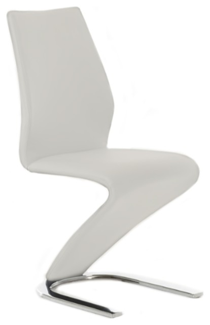 Boulevard Eco-Leather Dining Chair By Casabianca Home.