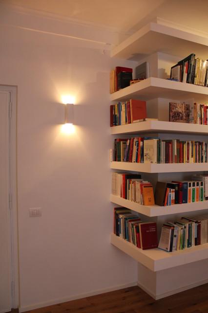 Libreria Cartongesso. Progetto Di Di Una Libreria In Cartongesso With Libreria Cartongesso ...