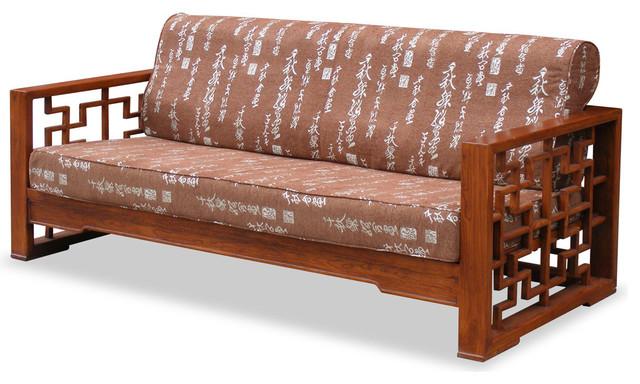 elmwood wan zi sofa asian sofas by china furniture. Black Bedroom Furniture Sets. Home Design Ideas