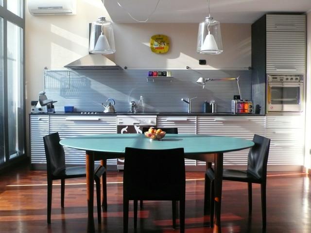 Arredamento Moderno Cucina : Arredo loft moderno cucina milano di aezetastudio