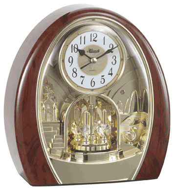 Hermle Jessica Musical Table Clock Victorian Desk And Mantel Clocks