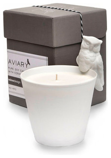 Aviary Owl Candle, Sky
