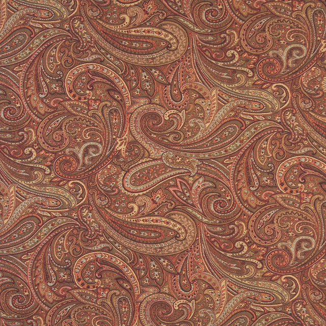 F326 Traditional Paisley Upholstery Fabric