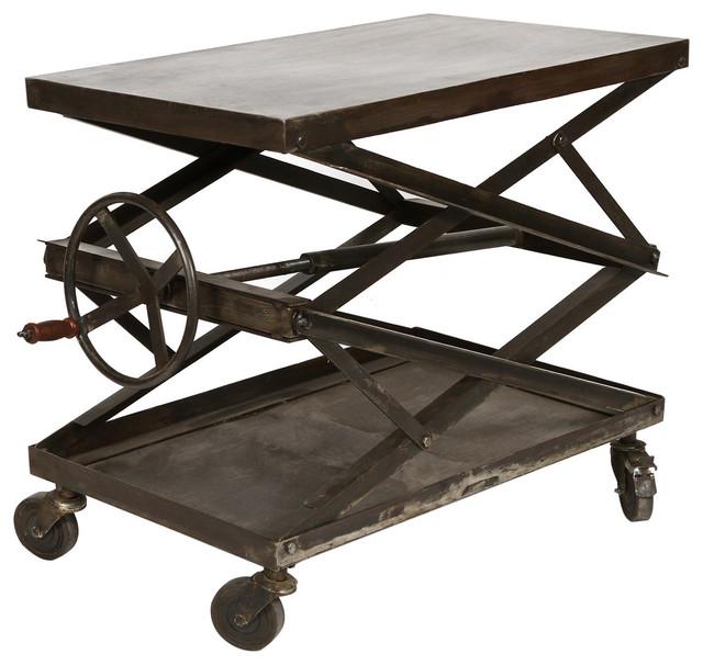 Scissor Crank Table Furniture By Cdi