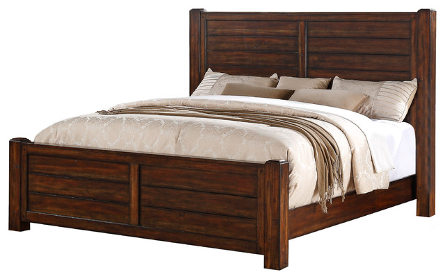 Danner King Bed Rustic Panel Beds By Picket House