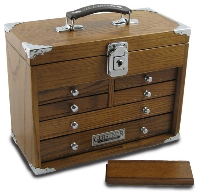 Tool Chest Gerstner GI-511 Mini-Max Chest With Top Handle - Traditional - Desk Accessories - by ...