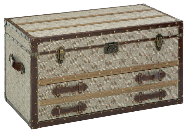 Winston Storage Trunk Rustic Decorative Trunks