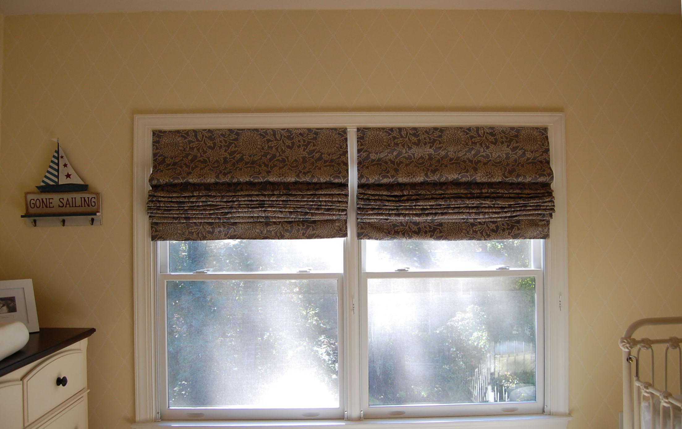 Children's nursery Window shades- Cordfree