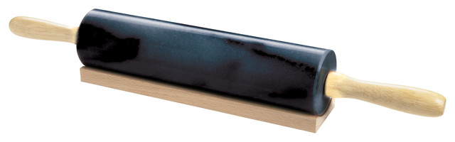 Black Marble Rolling Pin.