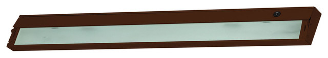 ZeeLED Dimmable LED 120V - 6 light, 48-inch. Bronze finish.