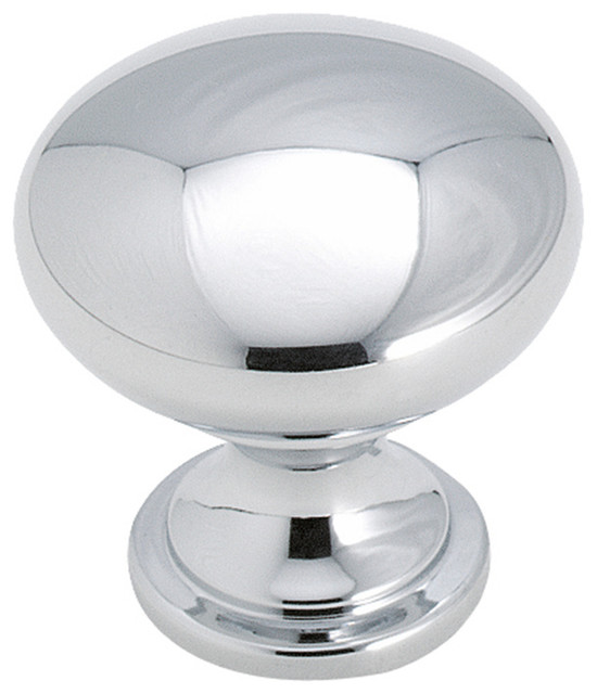 """Amerock - Amerock, Allison Value Hardware 1-1/4"""", 32mm, Knob, Polished Chrome - View in Your ..."""