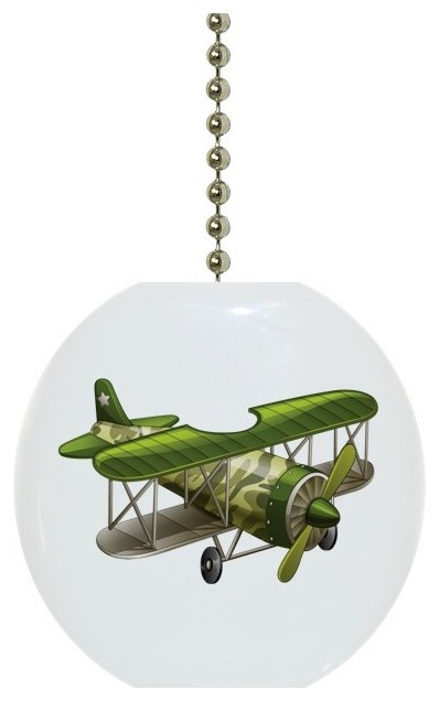 Green Airplane Ceiling Fan Pull Traditional Ceiling Fan Accessories By Carolina Hardware And Decor Llc
