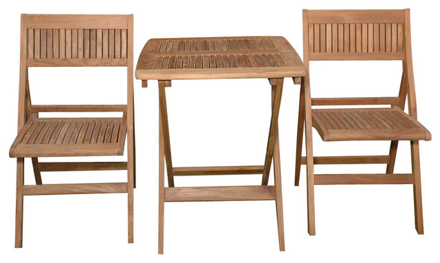 3 Piece Windsor Square 24 Quot Folding Table With 2 Windsor
