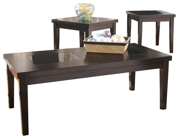 Signature Design By Ashley 3 Piece Occasional Table Set Transitional Coffee Table Sets By