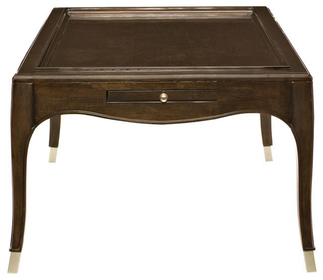 Admirable Bernhardt Miramont End Table Dark Sable Finish Theyellowbook Wood Chair Design Ideas Theyellowbookinfo