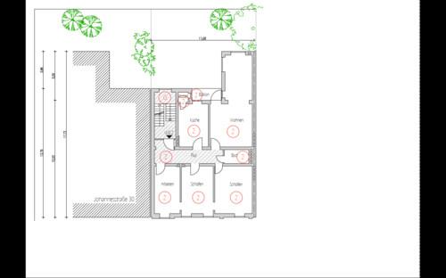 umbau wohnung planung kleines bad und g ste wc. Black Bedroom Furniture Sets. Home Design Ideas