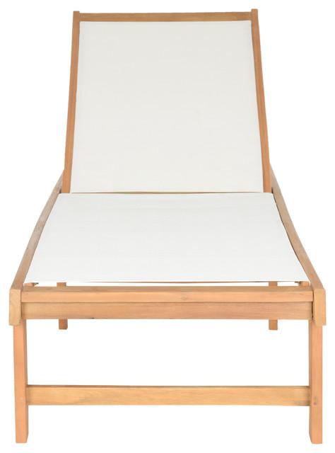 Safavieh Manteca Outdoor Lounge Chair, Natural
