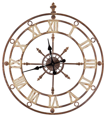 Iron Frame Wall Clock
