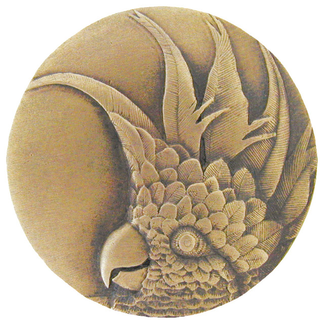 Notting Hill Cockatoo Knob - Tropical - Cabinet And Drawer Knobs ...