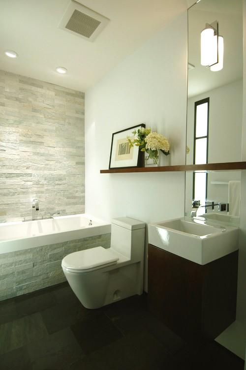 California Cool in the Castro-Bathroom modern bathroom