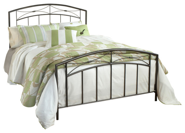 Morris Bed Set With Rails, Queen.