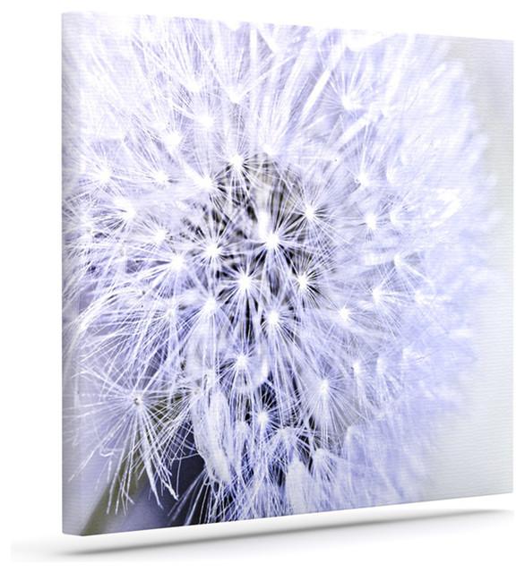 "Lavender Wall Art debbra obertanec ""lavender wish"" purple flower wrapped art canvas"