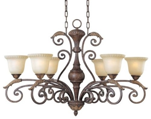 Beaumont Linear Chandelier traditional pendant lighting