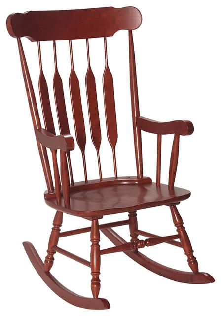 Incredible Gift Mark Home Kids Children Adult Rocking Chair Espresso Machost Co Dining Chair Design Ideas Machostcouk