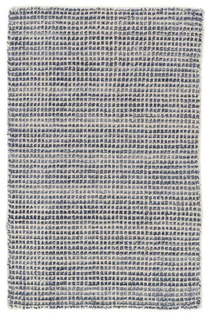 Dash & Albert, Homer Loom Rug, Blue, 10&x27;x14&x27;, Rectangle.