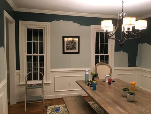 Asymmetrical Dining Room Help