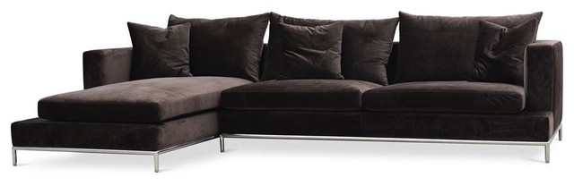 120 Sectional Sofa With Chaise.
