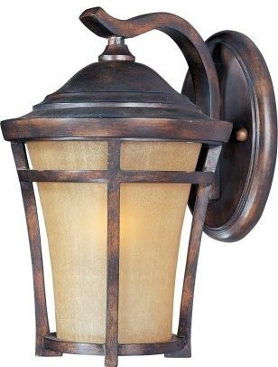 Maxim Lighting 85164gfco Balboa Vx Ee 1-Light Outdoor Wall Mount.