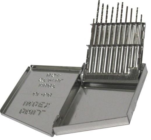 61 - 80 Cobalt Steel Jobber Drill Bit Set, 20 Pieces, D/a20j-Co-Set