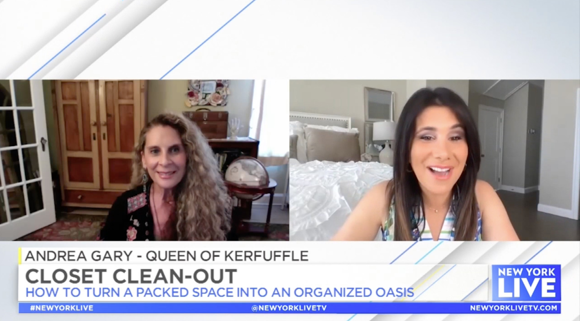 Closet Clean-Out with Joelle Garguilo, NBC New York