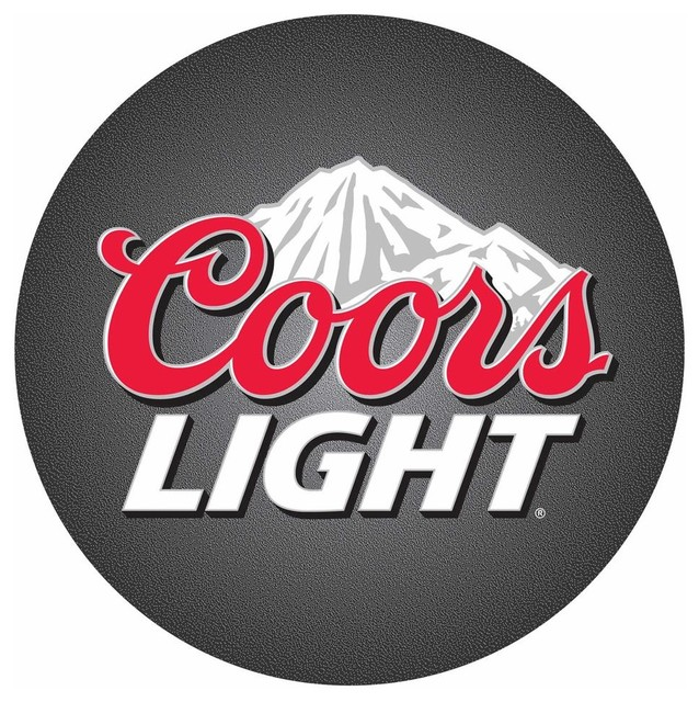 Bar Stool W Padded Seat Amp Coors Light Logo Bar Stools