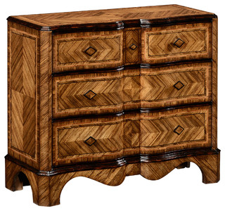 Jonathan Charles Large Argentinian Walnut Chest of Drawers