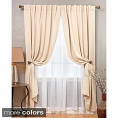 How To Hang Sheer Curtains Without A Double Rod Wwwelderbranchcom