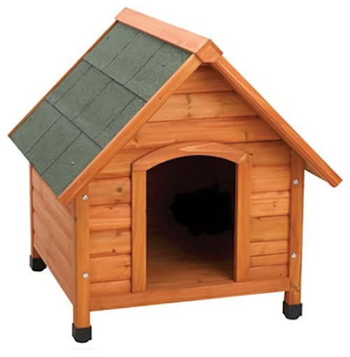 Ware Premium Plus A-Frame Fir Wood Dog House, Large
