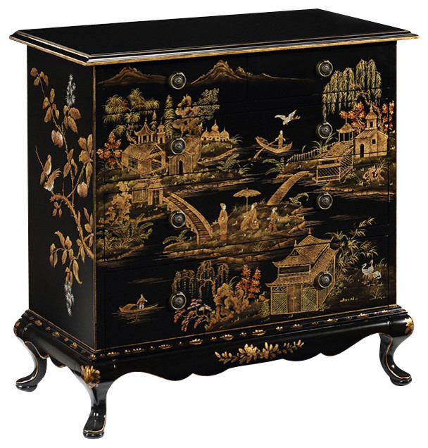 Inviting Home Inc. - Hand-Painted Chinoiserie Chest - View in Your Room! | Houzz