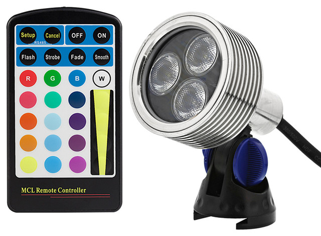 outdoor led spotlights twin glux series color changing rgb led spot light