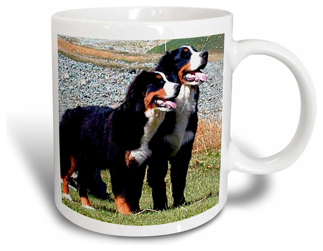 Bernese Mountain Dog Mug 15 Oz