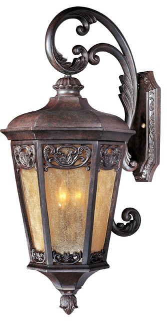 Tuscan Three Light Up Lighting Outdoor Large Wall Sconce Victorian Outdoor Wall Lights