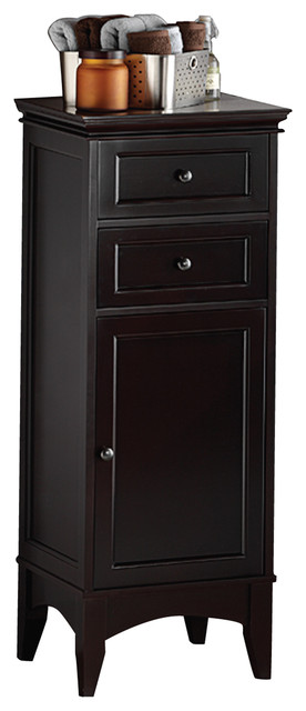 Berkshire 43 Quot Espresso Floor Cabinet Transitional