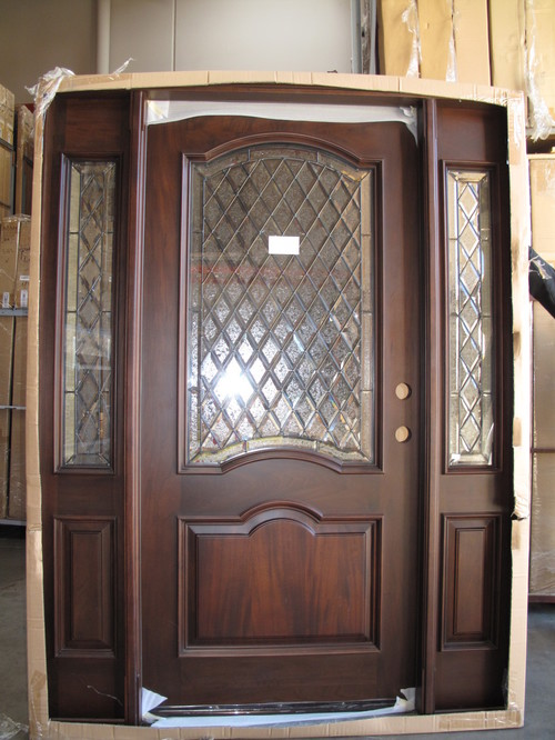 The front door dilemma for Front doors that let in light