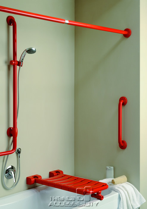 Shower Grab Bars For The Elderly grab bars & handrails in bathrooms for seniors or for all?