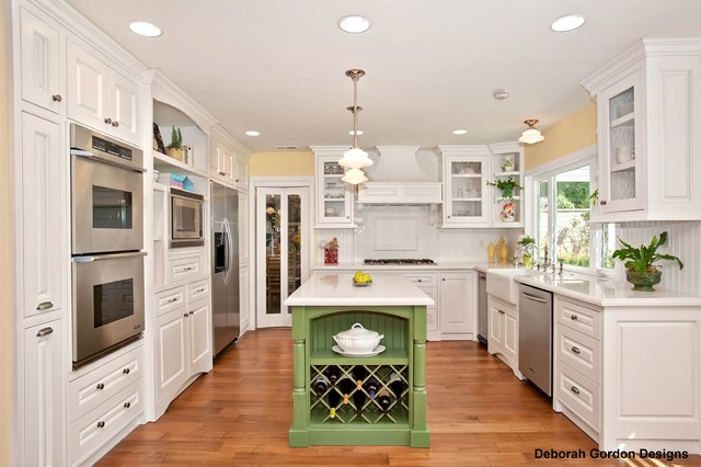 French Country Kitchen Traditional Kitchen San Diego