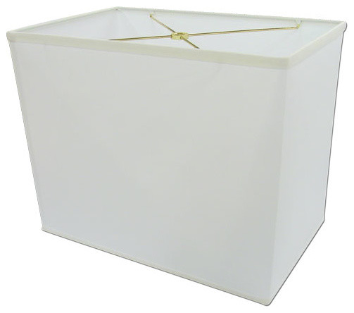 lampshade top white rectangle