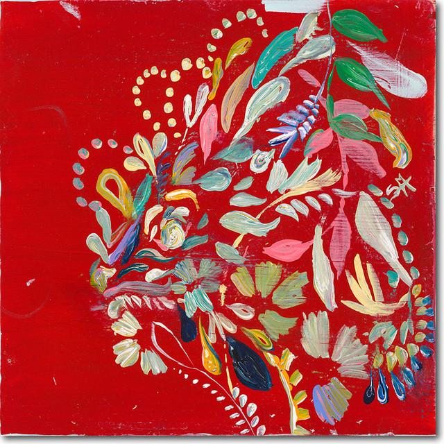 """abstract Ii"" Artwork By Starla Michelle Halfmann, 30""x30""."
