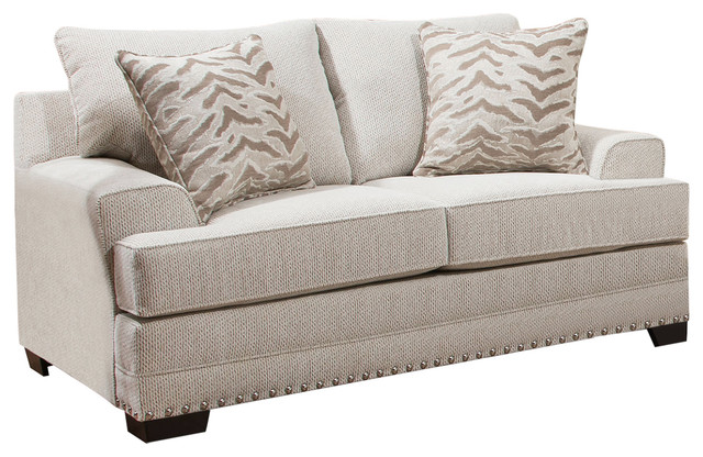 Terrific Simmons Upholstery Grenada Natural Loveseat Frankydiablos Diy Chair Ideas Frankydiabloscom