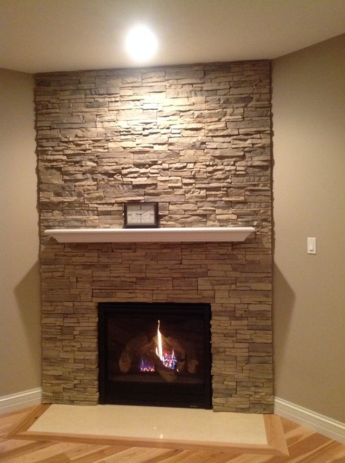 Artwork shape - size over fireplace mantle